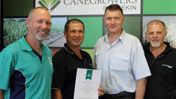 Northern growers achieve Smartcane accreditation